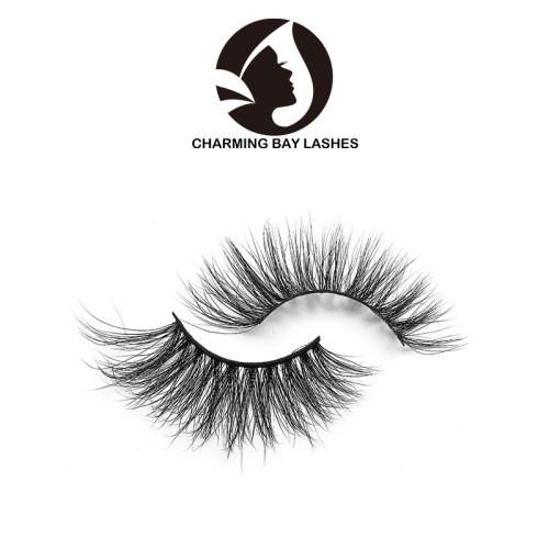 siberian 3d mink self adhesive soft false eyelashes with logo box transparent band eyelashes