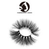 5d hand made 3d mink high quality eyelashes with own logo 5d eyelash strip wholesale