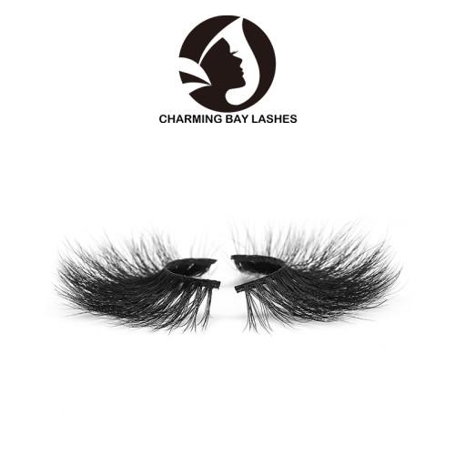 3d fluffy high quality fashion mink eyelashes with own logo eyelash 5d false eyelashes fur mink eyelashes fluffy lashes