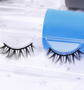 3d 100% siberian mink fur beauty lady charming eyelashes private labels custom brand wispy 3d mink eyelash