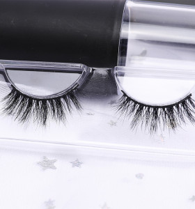 custom eyelash 100% 3d real mink handmade eyelashes set cheap false eyelashes