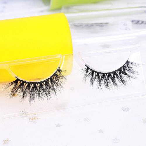 3d cheap mink eyelashes unique luxury 3d mink natural oem false eyelashes
