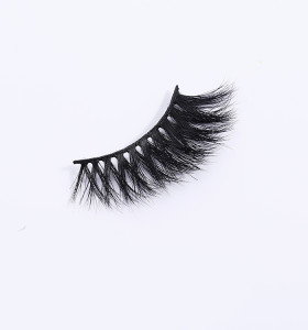 3d qindao mink your own brand regular eyelashes wholesale mink eyelash natural looking eyelashes
