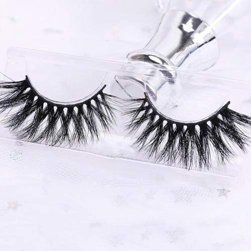 3d qindao mink your own brand regular eyelashes wholesale mink eyelash natural looking eyelashes