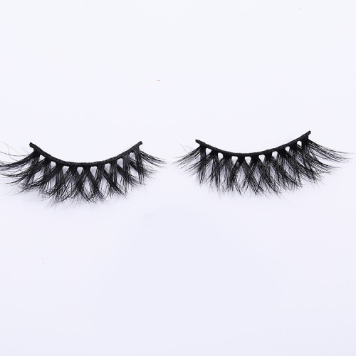 own brand no glue false 3d mink eyelashes with custom box self adhesive soft false eyelashes