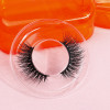 wholesale wispy 3d strip mink eyelashes with custom cases thick mink eyelashes