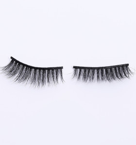 short 3d mink reusable eyelashes with custom packages wholesale strip false eyelashes mink