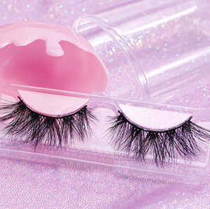 natural long 3d full mink cruelty free eyelashes with customize box siberian mink lashes wholesale