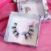 3d natural mink eyelashes beauty lady eyelashes with eyelash box custom creme free false eyelashes samples wholesale