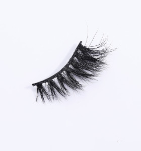 private label custom own brand 3d mink eyelash plastic case for qingdao eyelashes
