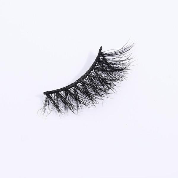 wholesale 3d mink premium eyelashes private label with logo private label qindao false eyelashes