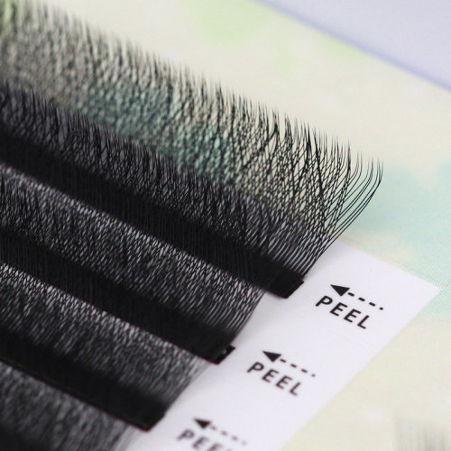 0.05美睫睫毛3D三叶草嫁接睫毛y型加密w一秒开花仙朵貂绒山茶花