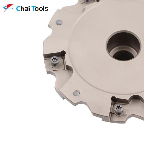 CSMZN-10100W09A27R-048 Slotting Cutter for CNC machining