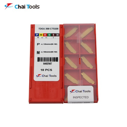 TDGU 200 CT5320 Grooving Insert with 2mm cutting width