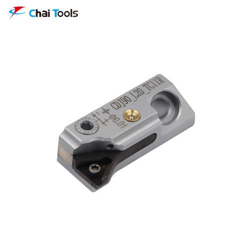 CDJ90_L20_TC11R Micro-adjustable Cartridge for fine boring machining