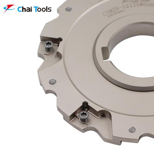 CSMZN-12125W09H40-048 Slotting Cutter for CNC machining