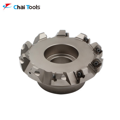 TFM45SN 10125-40L-12 Shoulder Milling Cutter with 45 degree