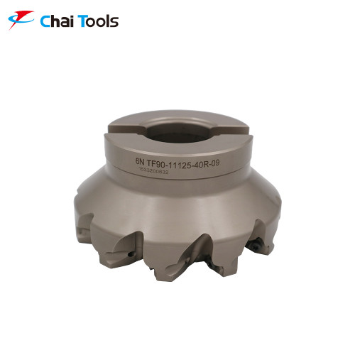 6N-TF90-11125-40R-09 Milling Cutter with 90 degree