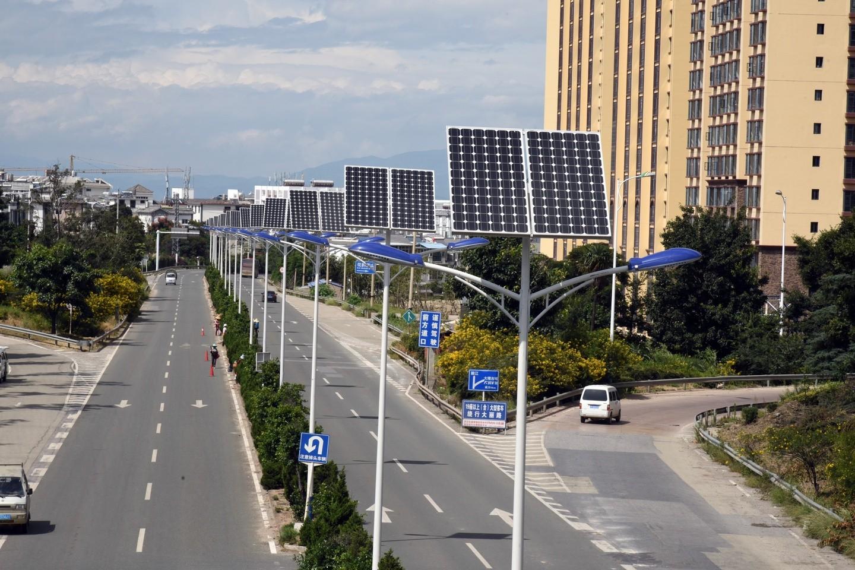 Characteristics of solar LED lamps