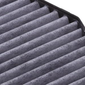 Harga kompetitif Kualitas Kertas Karbon Spons Filter A2308300418 Ac Filter Untuk Mercedes Benz SL-GELAS G-CLASS