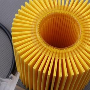 Kualitas tinggi mesin mobil murah, Ganti suku cadang, Filter oli asli 04152-31080 untuk Toyota Corolla \ RAV4 \ Camry