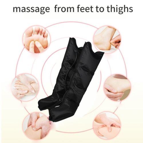 Air compress acupressure circulation therapy apparatus machine for back pain massage