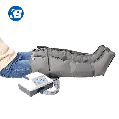 Portable paralysis tiens blood circulation equipment air compression leg massager system