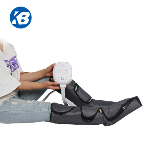 Amazon hot selling portable rechargeable air relax foot calf leg massager