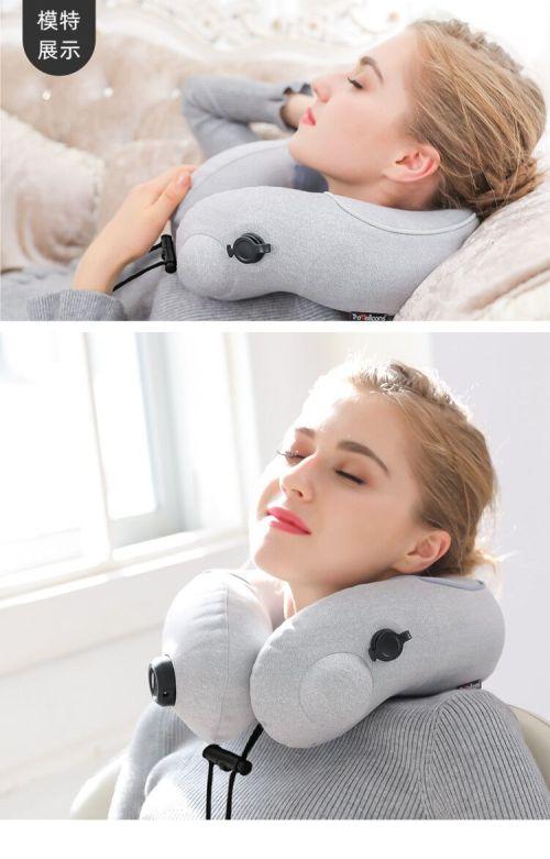 New journey pressotherapy cervical vertebra kneading massager neck massage pillow