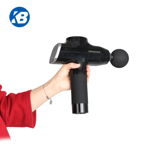 home use high Quality Handheld Battery Operated Fascial Vibration Muscle Massage Gun