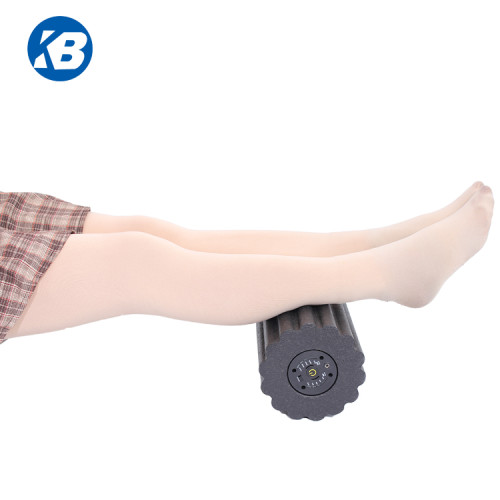 2019 Wholesale EVA Yoga Electric Massage Exercise vibrating roller foam