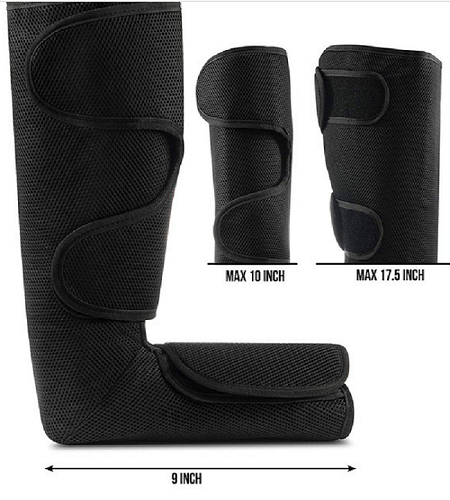 New heating air pressure compression foot leg massager
