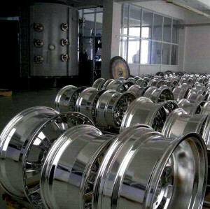 Vacuum multi-arc ion coating equipment :wheel hub