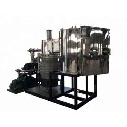 High PVD gold /sliver/zinc/aluminum Vacuum coating machines / PVD metal chroming metallizing plant