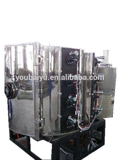 High Vacuum PVD Metallization Coating Machines/machine for PVD plastic chroming metallizing plant