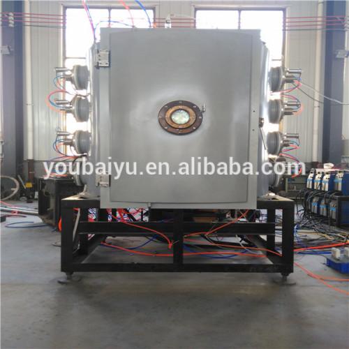 Machine for PVD plastic chroming metallizing plant