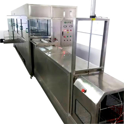 Industrial Ultrasonic Cleaning System Customized Automatic Cleaner Line