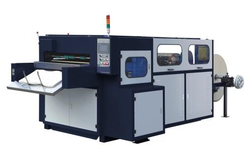 Máquina troqueladora automática de cama plana