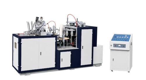 Máquina formadora de vasos de papel (bebidas frías y calientes)
