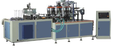 Máquina formadora automática de tazas de palomitas de maíz