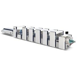 Máquina automática de plegado y encolado de 4 y 6 esquinas de alta velocidad