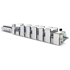Automatic High Speed 4&6 Corner Folding and Gluing Machine