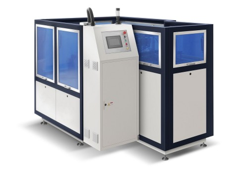 Máquina formadora de tapas de papel