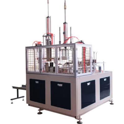 Máquina formadora de cajas de ensalada de papel