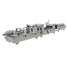 Auto Pre-Fold & Lock Bottom Folding Gluing Machine