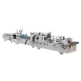 Pre-Fold & Lock Bottom  Box Folding Gluing Machine