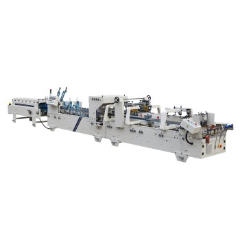 Pre-Fold & Lock Bottom  Box Folding Gluing Machine