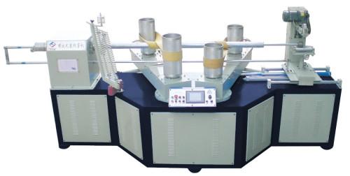 Máquina formadora de tubos de papel