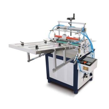 Máquina etiquetadora de tubos de papel