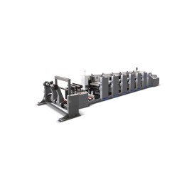 HORIZONTAL PAPER CUP FLEXO PRINTING MACHINE